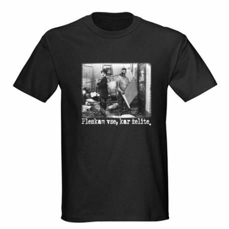 Majica za rojstni dan Pleskar - črna