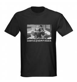 Majica za rojstni dan Zidar - črna