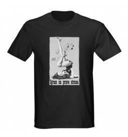 Majica za rojstni dan Glasbenik - črna