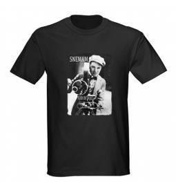 Majica za rojstni dan Snemalec - črna