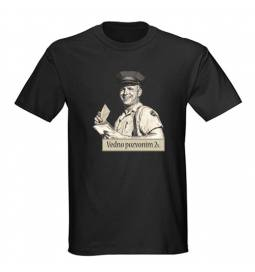Majica za rojstni dan Pozvonim 2x - črna