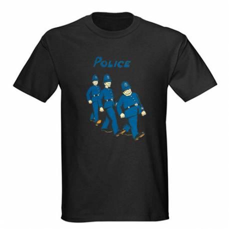 Majica za rojstni dan Policaj - črna