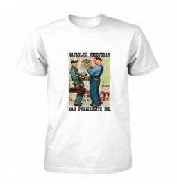 Majica za rojstni dan Najboljši vodovodar