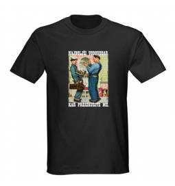 Majica za rojstni dan Najboljši vodovodar - črna
