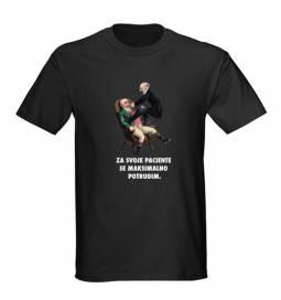 Majica za rojstni dan Zobozdravnik - črna