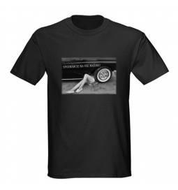 Majica za rojstni dan Najboljši mehanik - črna