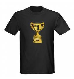 Majica za rojstni dan Najboljši šef - črna
