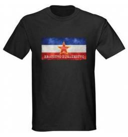 Majica Bratstvo i jedinstvo, črna