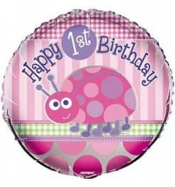 Folija balon 1. rojstni dan, Pikapolonica