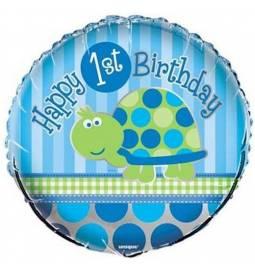 Folija balon 1. rojstni dan, Želvica