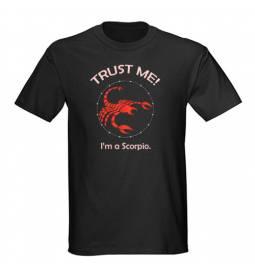 Majica Zaupaj mi, Škorpijon