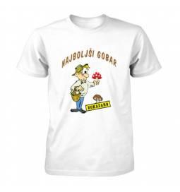 Majica Dokazano najboljši gobar