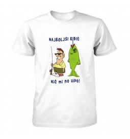 Majica Najboljši ribič, nič mi ne uide