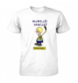 Majica Dokazano najboljši hokejist