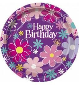 Krožniki 18 cm, Birthday Blossom