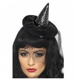 Bleščeč čarovnica klobuk na obročku