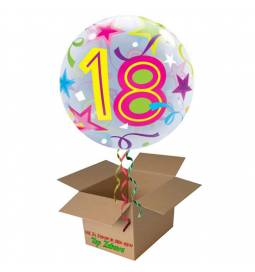 Napihnjen Bubble balon Stars 16 let, pisan