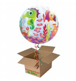 Napihnjen Bubble balon Tropske ribice