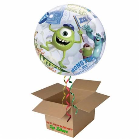 Napihnjen Bubble balon Cars Happy Birthday