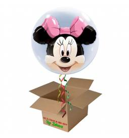 Napihnjen Bubble balon Minnie Mouse Bow
