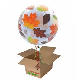 Napihnjen Bubble balon Pisano cvetje
