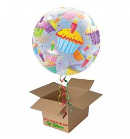 Napihnjen Bubble balon Jesensko listje