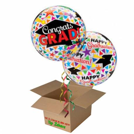 Napihnjen Bubble balon Graduate