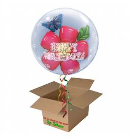 Napihnjen Bubble balon Birthday Flower