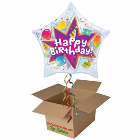 Napihnjen Bubble balon Birthday Lit