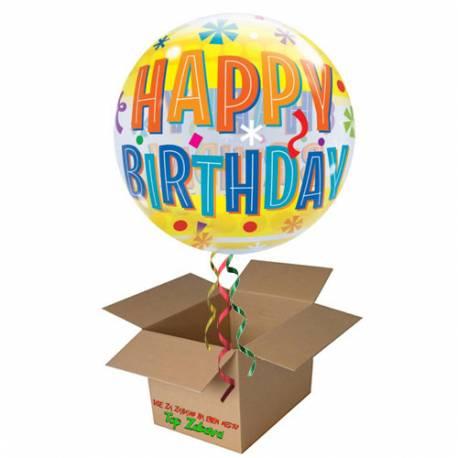 Napihnjen Bubble balon Birthday Blast