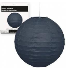 Lampijon 25 cm, črn
