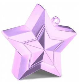 Utež za balone Zvezdica, pearl pink