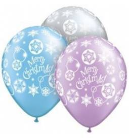 Baloni 10/1, Vesel Božič, Snowflakes