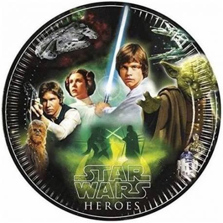 Krožniki Star Wars Heroes 23 cm, 8/1