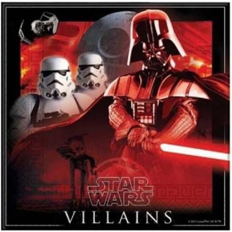 Serviete Star Wars Villains 33x33 cm, 20/1