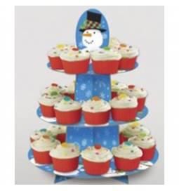 Muffin stojalo Snežak