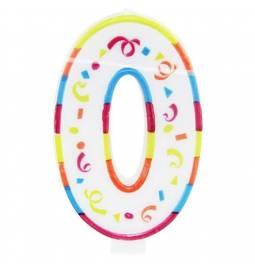 Jumbo svečka 20 cm, Deveti rojstni dan