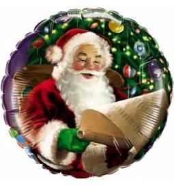 Folija balon Božičkov obraz