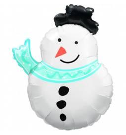 Folija balon Božičkov obraz 80 cm