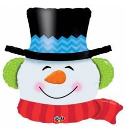 Folija balon Snowman