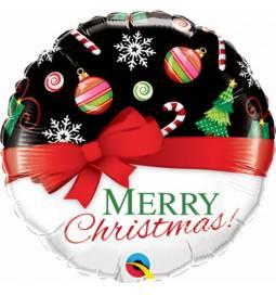 Folija balon Vesel Božič