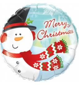 Folija balon Vesel Božič 1