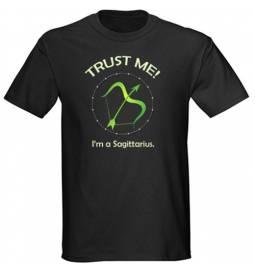 Majica Zaupaj mi, Strelec
