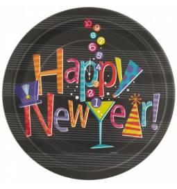 Krožniki 18 cm, Srečno novo leto