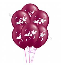 Poročni balonski šopek, Goloba, Diamond 10/1