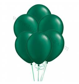 Balonska dekoracija v pearl esmeraldno zeleni barvi 10/1