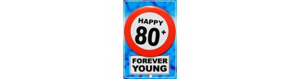 Zabava za 80 rojstni dan in več