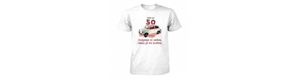 Majice za 50 rojstni dan
