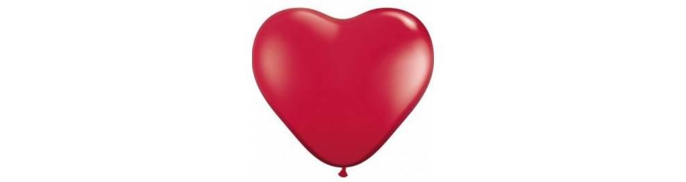 Baloni v obliki src 15 cm
