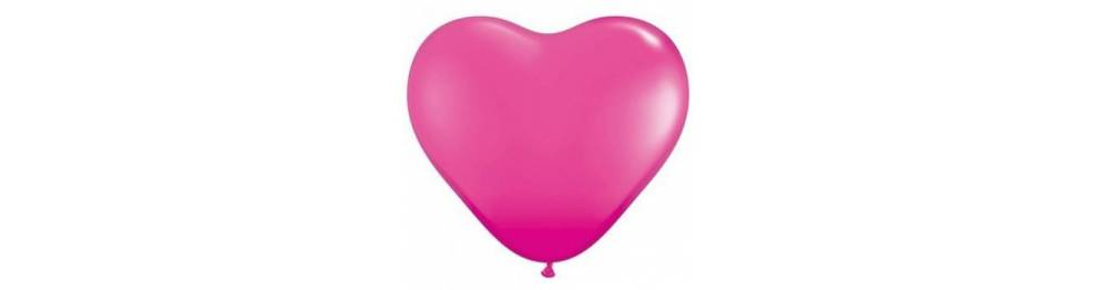 Baloni v obliki src 28 cm